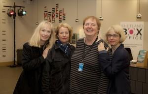 Screenplay Director Kathy Hubbard and guests.