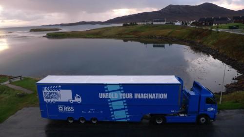 Screen Machine at Lochmaddy