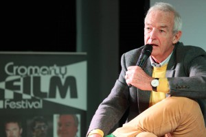 Jon Snow at Cromarty Film Festival 2016