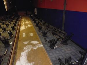 Screen Machine auditorium being refurbished