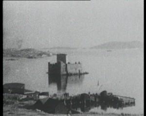 Castlebay - Kishmul Castle in 1930s