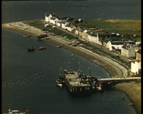 Ullapool - Aerial shot from 1950s